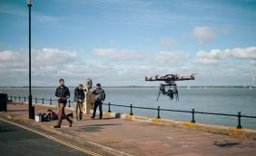 Sea shoot with the Skyjib. Courtesy of Red Earth Studios
