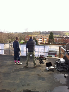 On the roof top for Royal Shrovetide