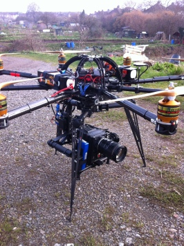 Red Epic on the Movi under the Skyjib