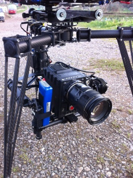 Close up Red Epic on Movi