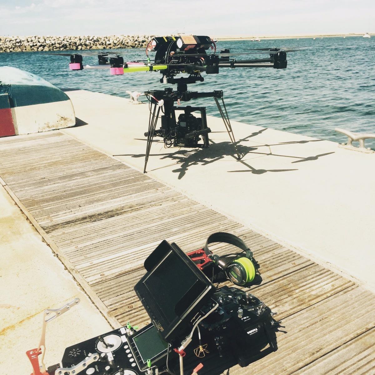 Drone, UAV, Octocopter, SUAS, Skyjib, Movi M15, C300
