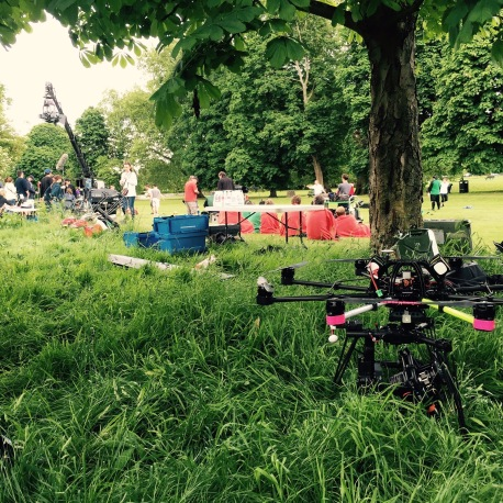 Drone, UAV, Octocopter, SUAS, Skyjib, Movi M15, Red Dragon, Carlsberg commercial