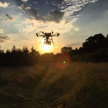 Drone, UAV, SUAS, Skyjib, Red Dragon, Movi M15, aerial filming