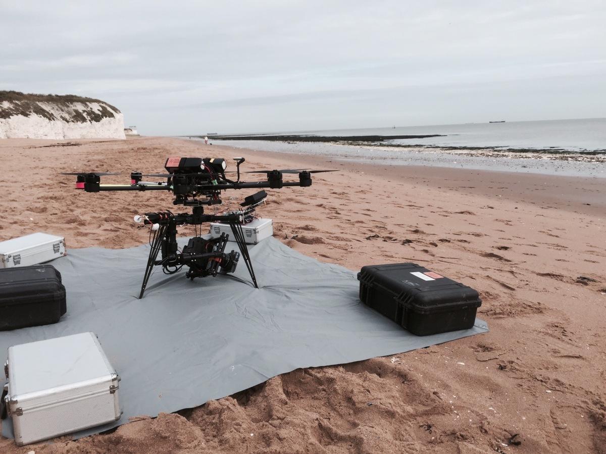 drone, anamorphic lens, beach, commercial, botany bay, uav, movi, m15, freelfly, octocopter, suas, aerial filming, flying camera company, red dragon, kowa