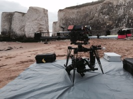 drone, matte box, nd, anamorphic lens, beach, commercial, botany bay, uav, movi, m15, freelfly, octocopter, suas, aerial filming, flying camera company, red dragon, kowa