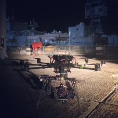 drone, alexa mini, movi, abc, steven poliakoff, freely, drama, close to the enemy, night shoot, flying camera company, uav, octocopter