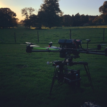 drone, red dragon, zeiss, movi, freely, drama, Doctor thorne, ITV, flying camera company, Uav, octocopter