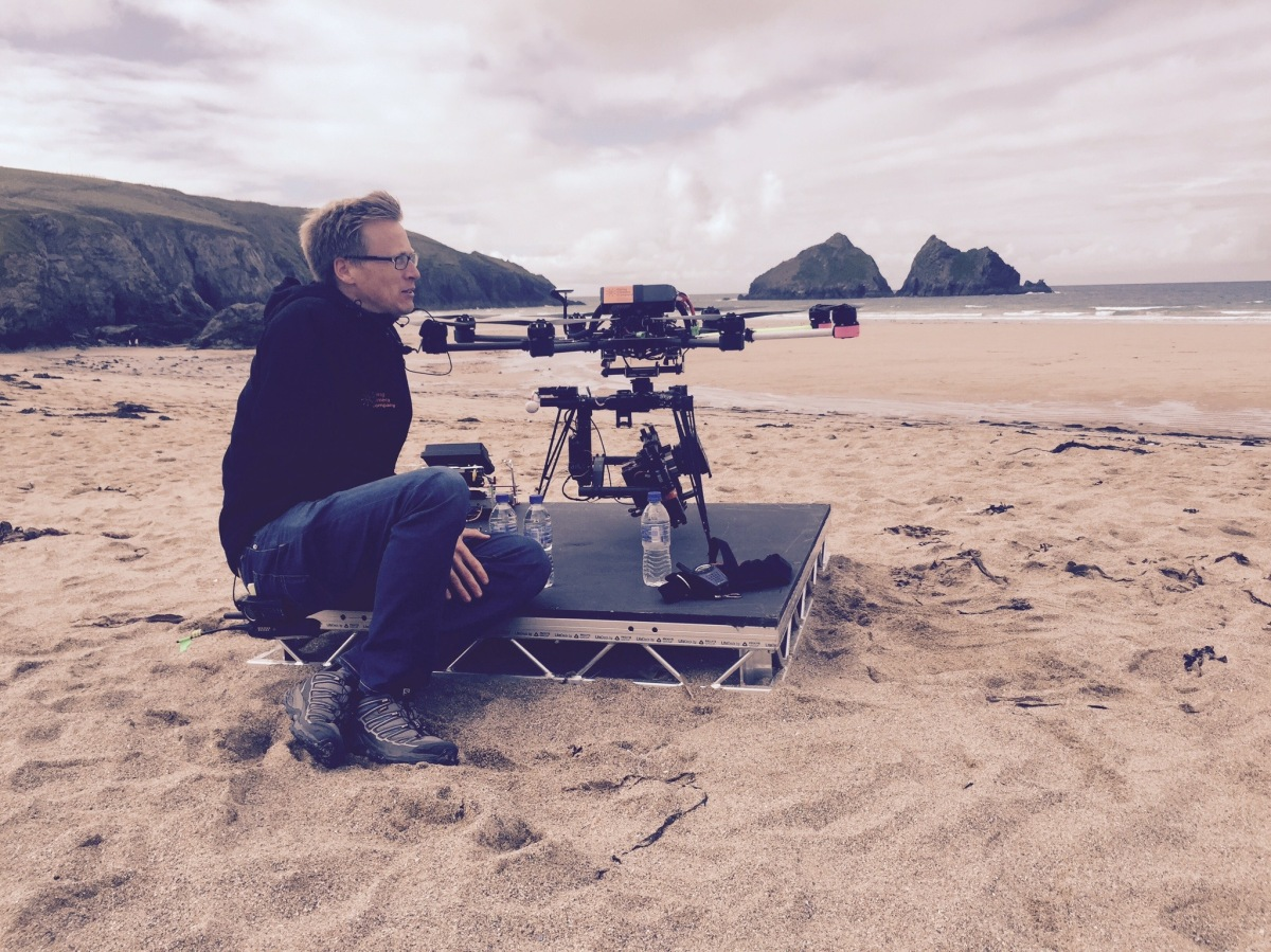 drone, red dragon, zeiss, cp.2, movi, freely, drama, poldark, bbc, flying camera company, uav, octocopter