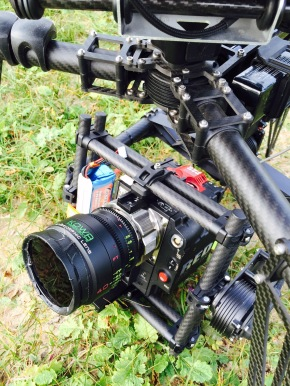 drone, red dragon, movi, freefly, Kowa, anamorphic lenses, music video, Lapsley, Hurt me, flying camera company, uav, octocopter