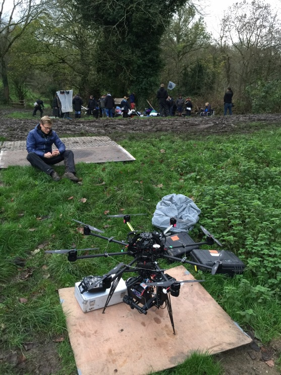 drone, alexa mini, movi, bbc, freely, drama, living and the dead, flying camera company, uav, octocopter