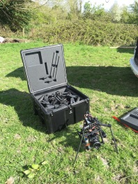 Drone Filming, UK, Bristol, Aerial Filming, UAV, Freefly Systems, Alta 8, drone, Alexa mini, flying camera company, Flight case, big box, UAV, Movi M15