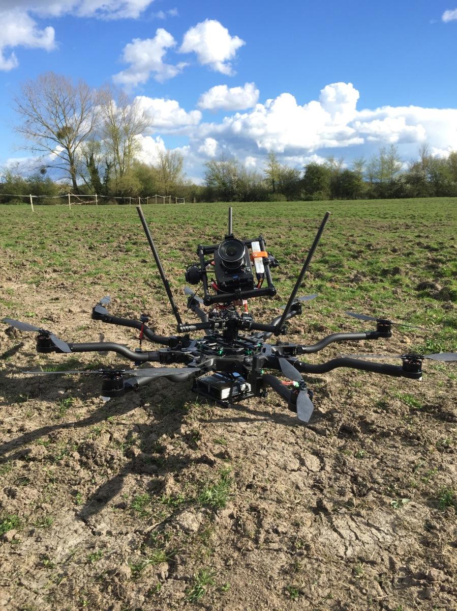 Drone Filming, UK, Bristol, Aerial Filming, UAV, Freefly Systems, Alta 8, drone, Alexa mini, sky view, top mounted, flying camera company, UAV, Movi M15
