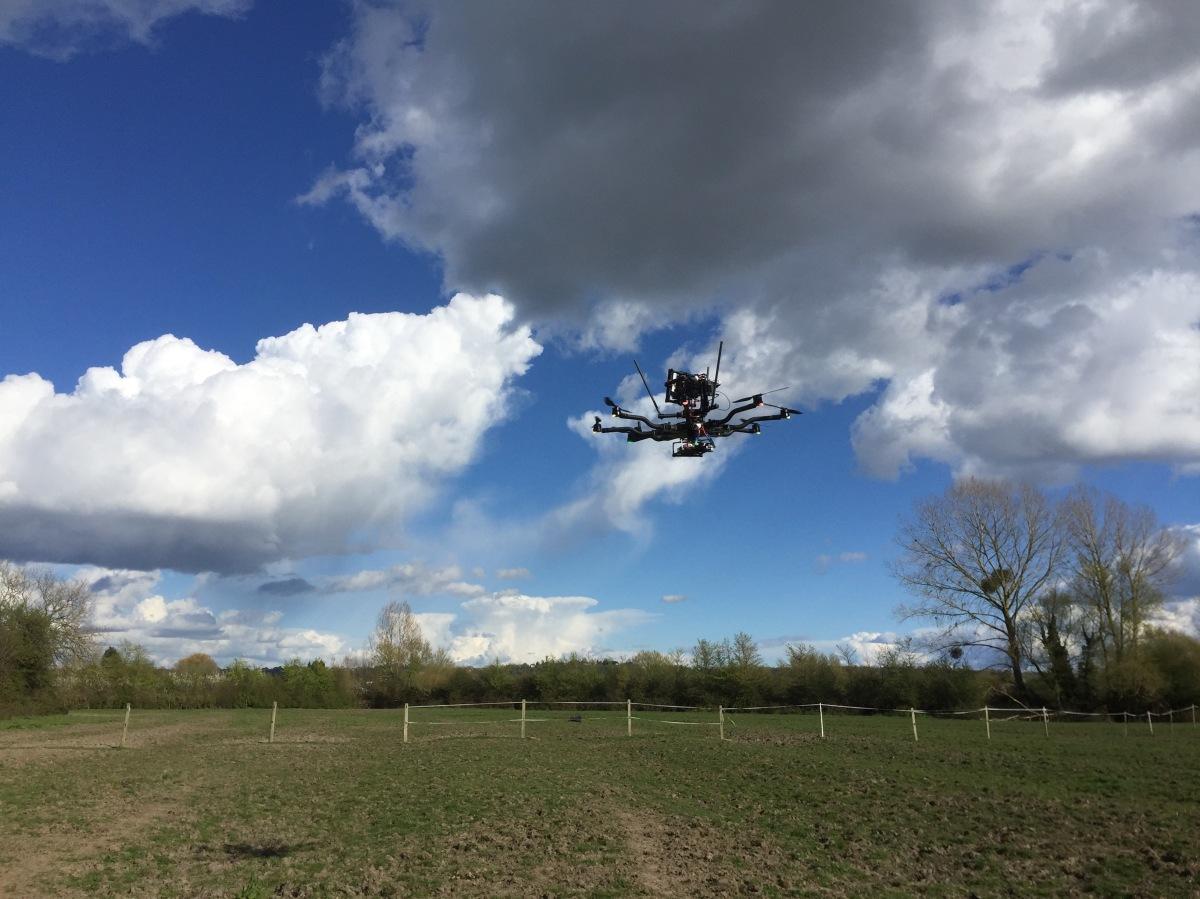 Drone Filming, UK, Bristol, Aerial Filming, UAV, Freefly Systems, Alta 8, sky view, drone, SUAS, top mounted, Alexa mini, flying camera company, UAV, Movi M15