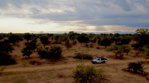 Zimbabwe, Land cruiser, DJI Inspire, Sunset, drone, photography,