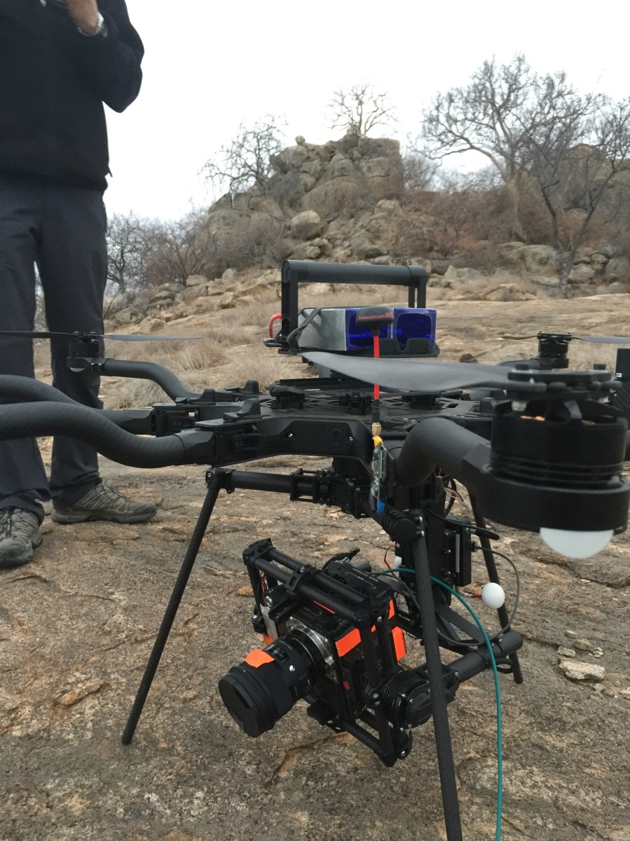 moon rock, Alta 8, Freefly systems, Movi M15, Red Weapon, UAV, Heavy lift, Zimbabwe, Africa, Flying Camera Company, Drone, Filming, Natural History,
