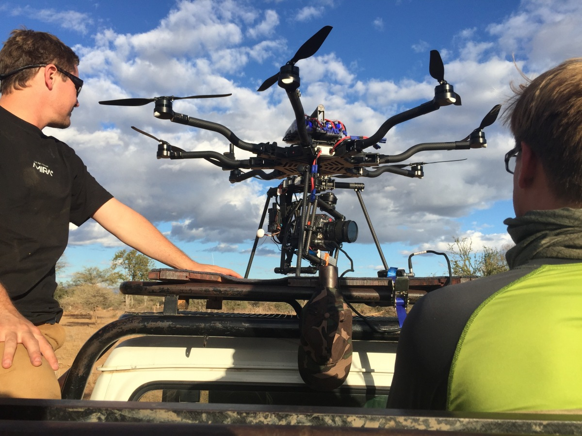 Launch pad, Alta 8, Freefly systems, Movi M15, Red Weapon, UAV, Heavy lift, Zimbabwe, Africa, Flying Camera Company, Drone, Filming, Natural History,