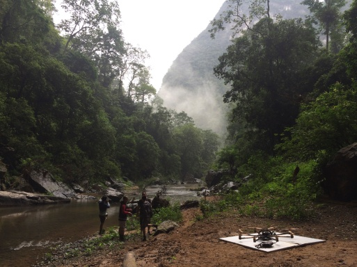 Drone, Drone Filming, Vietnam, Feature Film, Pan, Red, Flying Camera Company