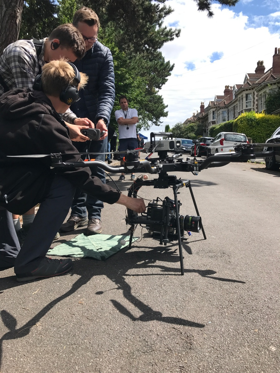 Kiri, Channel 4, drama, drone, alexa mini, Alta 8, Movi Pro, Leica Summilux-C, Bristol, St Andrews Park, Drone filming