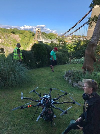 Kiri, Channel 4, drama, drone, alexa mini, Alta 8, Movi Pro, Leica Summilux-C, Bristol, Clifton Suspension Bridge, Drone filming