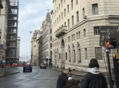 Curfew, Sky One, Drama filming, Drone, Drone Crew, Drone team, alta 8, alexa mini, manchester, drone filming, aerial cinematography, heavy lift, octocopter, multi rotor, movi pro, freefly systems, congested area, Liverpool, Mclaren P1