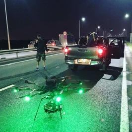 Curfew, Sky One, Drama filming, Drone, Drone Crew, Drone team, alta 8, alexa mini, manchester, drone filming, aerial cinematography, heavy lift, octocopter, multi rotor, movi pro, freefly systems, congested area, countryside, chase sequence, lighting, night shoot, Flying camera company, Manchester, car to car